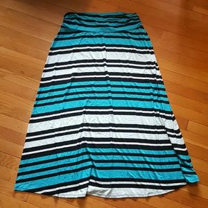 Merona Dresses & Skirts - NWOT Merona striped maxi skirt