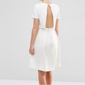 ASOS Dresses & Skirts - ASOS Full Double Layered Midi Dress with Rib Skirt