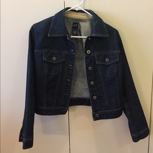 GAP Dark denim jacket, XS