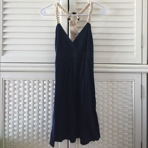 Ocean Drive Dresses & Skirts - HP🎉 Navy nautical rope beach dress s ocean drive