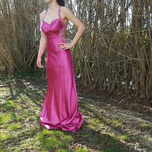 faviana Dresses & Skirts - Fushia Faviana evening dress size 4