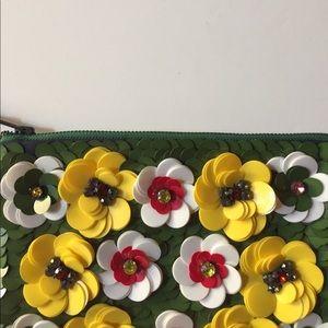 Handbags - Unique floral 3D pouch