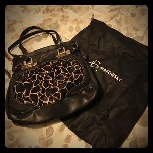 b. makowsky Handbags - NWOT Super chic B Maxowski bag. To die for!