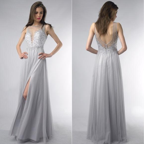 b76368c4d3 BASIX Black Label Dresses   Skirts - EMBELLISHED ILLUSION BALL GOWN