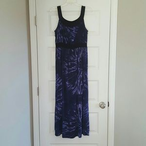 new directions Dresses & Skirts - New Directions Tie dye slinky maxi dress