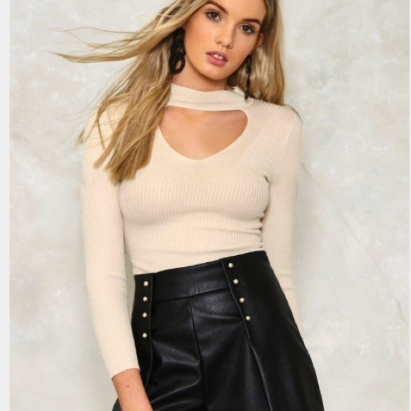 77d1f8aa605 🆕LNA Nude Top. Boutique. Nasty Gal.  10  78. Size. S. L