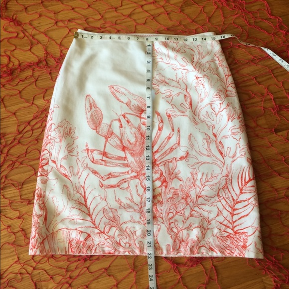 73% off Anthropologie Dresses & Skirts - 🌺 ANTHROPOLOGIE HD in Paris CUTE Lobster Skirt 6! from ...