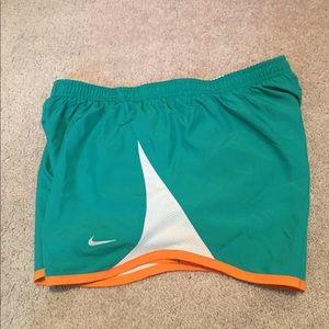 Nike Pants - Nike size medium women's running shorts