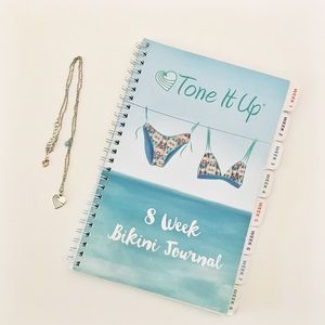 Tone It Up Jewelry - Tone It Up Necklace and Fitness Journal Bundle