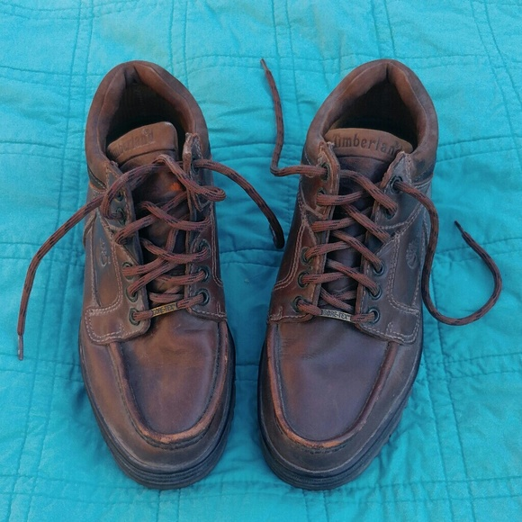 Men's Vintage 90's Timberland boots 8.5 Wide