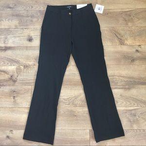 Ellen Tracy Pants - NWT Ellen Tracy Knit Trousers Black - 10
