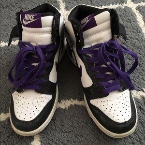 Royal purple dunks