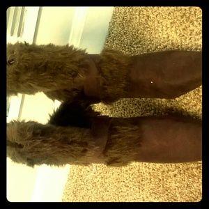 Pierre Dumas Shoes - Pierre Dumas fur boots 8.5