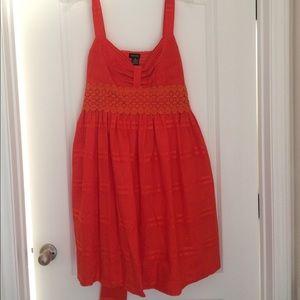 Spense Dresses & Skirts - Orange-Red Sundress