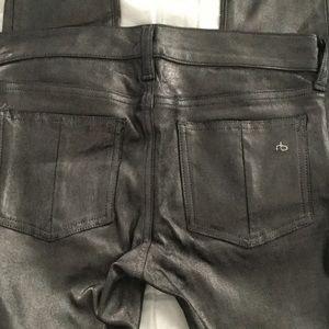 Gorgeous Metallic  Lamb Leather Pants