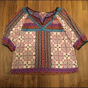 Gibson Latimer Multi Color Top