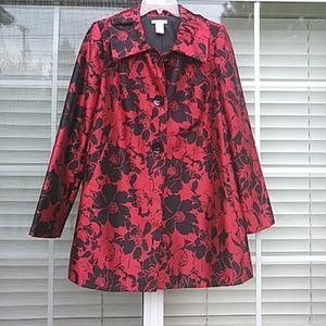 Laura Ashley Jackets & Blazers - LAURA ASHLEY stunning floral coat!