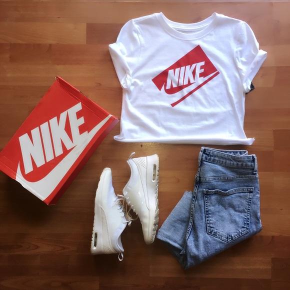 ❗️ONLY 1 LEFT♥️Retro NIKE crop top shirt ✓️ 06d1dc4b5