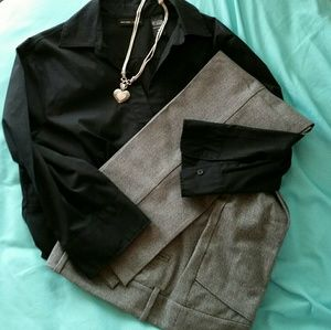 Empire waist 3/4 sleeve top