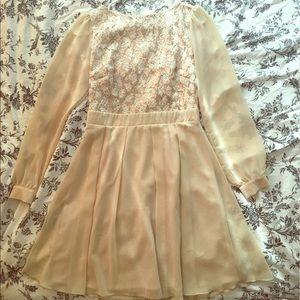 Little Mistress Dresses & Skirts - Little Mistress Embellished Skater Dress