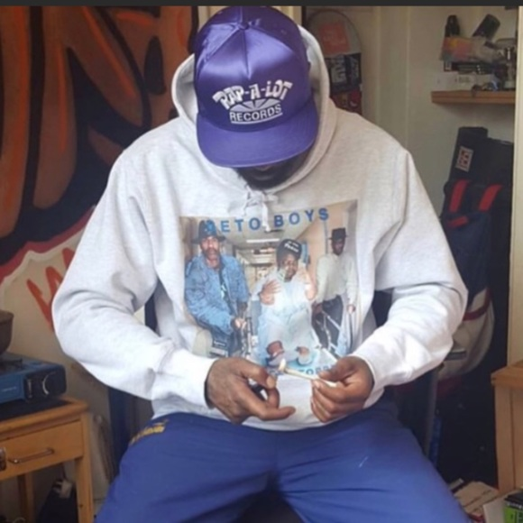 ecef964a Supreme Accessories   Rap A Lot Records 5 Panel Hat Purple Satin ...