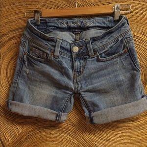 American Eagle Outfitters Pants - American Eagle Jean Shorts 00 - Vintage