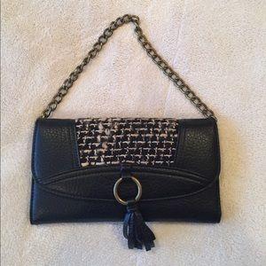 Deena & Ozzy Handbags - Urban Outfitters Black Wallet