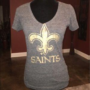 Woman's Touch Apparel Tops - Ladies Saints shirt