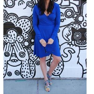 Humble Chic NY Dresses & Skirts - Humble Chic NY blue wrap dress.