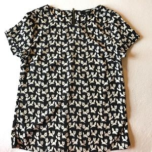 Brooklyn Industries Tops - Brooklyn Industries Cat Shirt.
