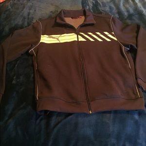 Puma zip up athletic jacket