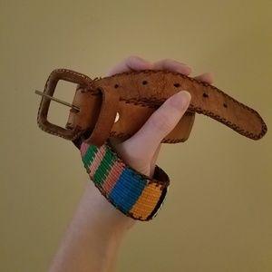 Vintage Kilm Leather Belt