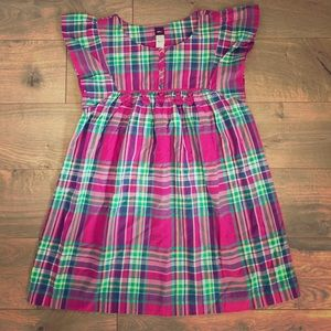Tea Collection Other - NWT Tea Collection Girls Lucknow Dress Plaids - 10