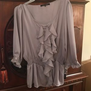 Violet & Claire Tops - Violet and Claire ruffled blouse