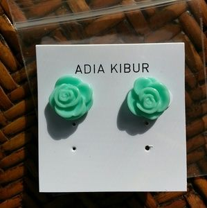 Adia Kibur Jewelry - NWT Adia Kibur Rose Earrings!