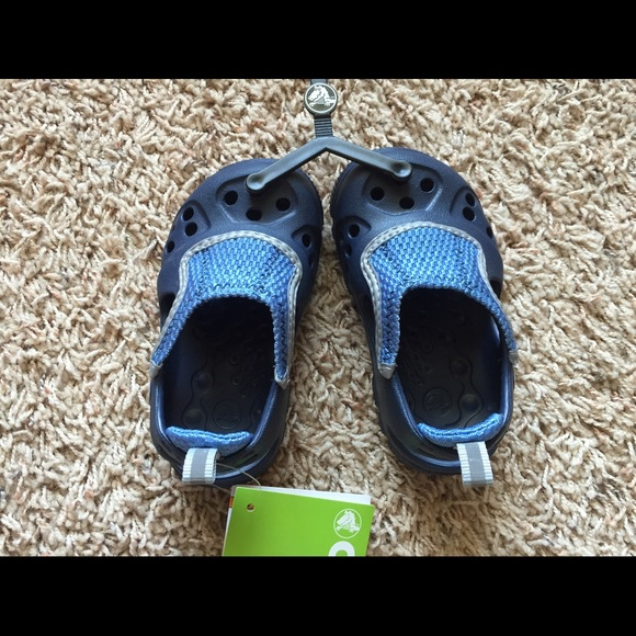 634f7825410507 🌟NWT🌟Boys Micah II Crocs Water Shoes 💦 Size 6 7