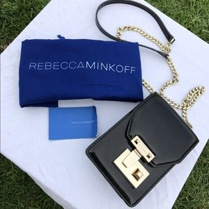 Rebecca Minkoff Handbags - Rebecca Minkoff Patent Leather Chain Bag