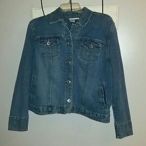Women's Jean Jacket Coldwater Creek Large