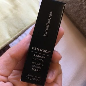 BareMinerals gen nude radiant lipstick in Posh