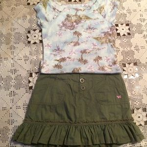 Other - Justice Shirt & Skort Outfit for a little Posher!