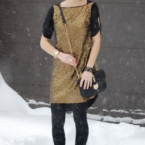 Rebecca Minkoff sequin dress.