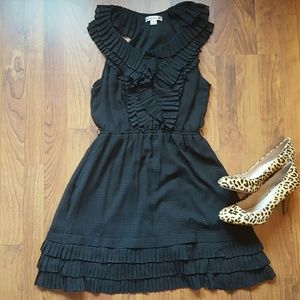 Double Zero Dresses & Skirts - adorable black ruffled dress