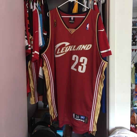100% authentic 5494d 21cd2 Lebron James Cavaliers vintage Authentic jersey