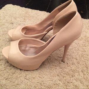 Just fabulous nude heels