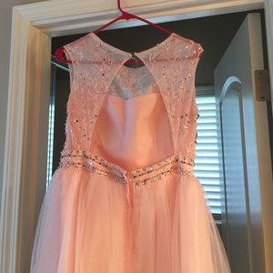 sammy dress Dresses - Pink rhinestone dress with tutu‼️‼️‼️SALE‼️‼️‼️