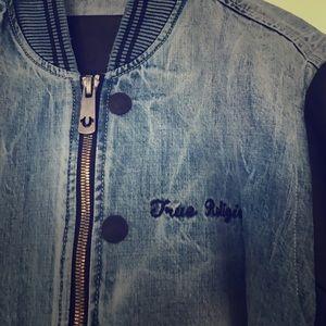 True Religion Other - True Religion Men's Bomber Denim Jacket