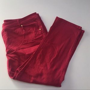 Pure Energy Denim - Red/pink jeans