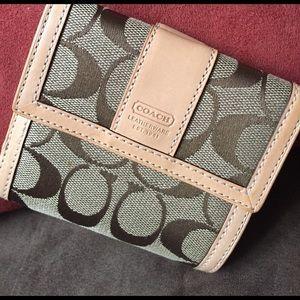 Coach Handbags - Coach folded wallet