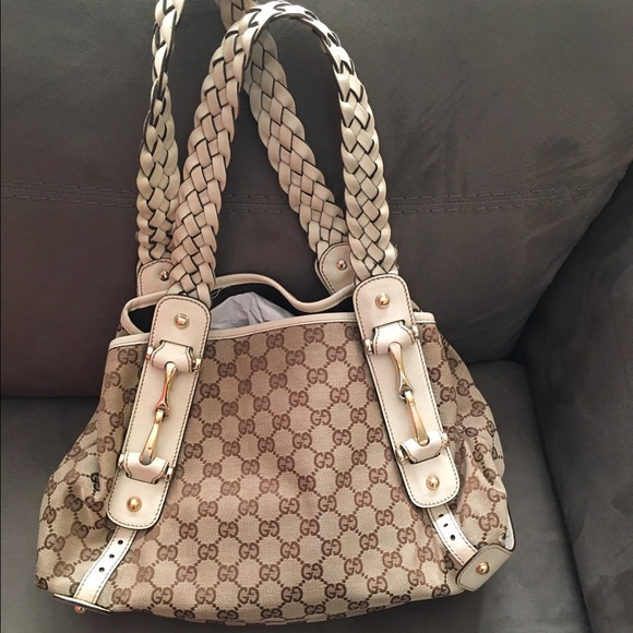 7fb3769056ef Gucci Bags | Pelham Bag W Braided White Straps | Poshmark