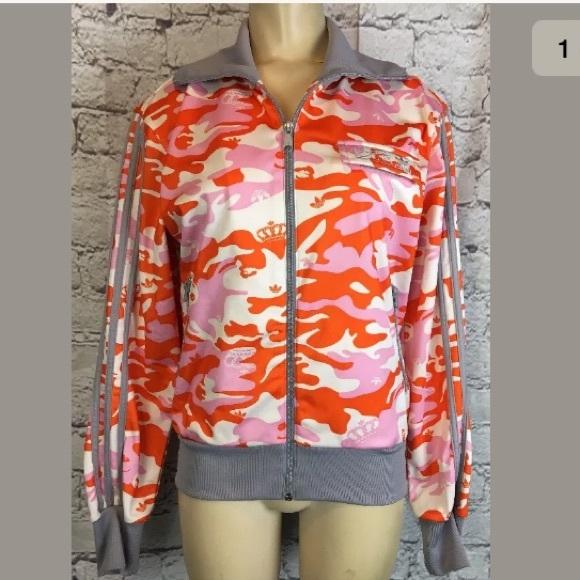 98c8e135c73 Adidas Tops - RARE ADIDAS Missy Elliot Respect Me Track Jacket M